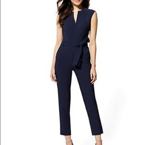 New York & Company Maddie Zip Jumpsuit